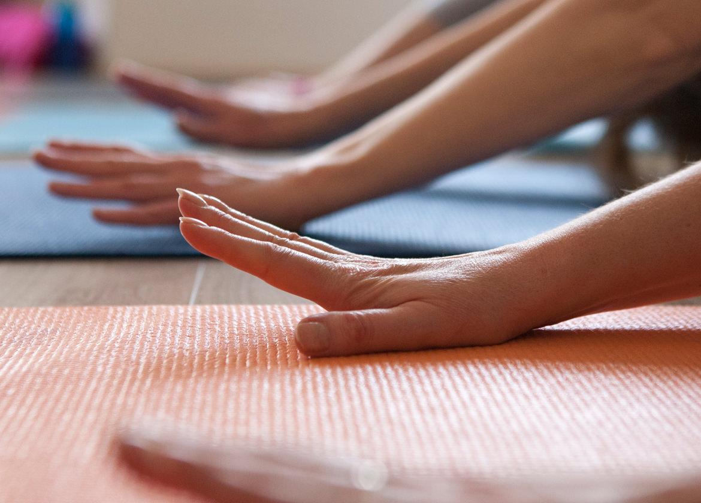 Yogajanam hands